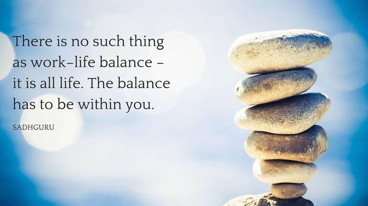 Does A Work/Life Balance ReallyExist?